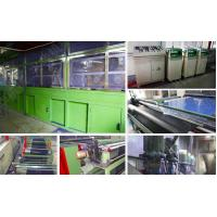 Knitting Non - Woven Electrostatic Flocking Equipment Available Working  Width 160cm
