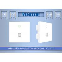 AC750 Dual-Band 2.4Ghz +5.8Ghz 48V 802.3af In Wall WiFi Access Point For Home, Hotel, Hospital - Model PW740 Manufactures