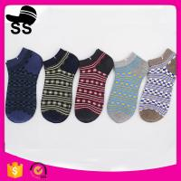 2017 69% Cotton 25 % Polyester 6%Spandex 24g 22.5cm Breathable Sporty Jacquard Apparel Hosiery Winter Knitting Socks Manufactures