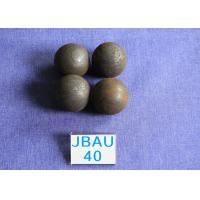 Cheap Mines D40mm / 50mm  Hot Rolling Steel Balls Surface hardness  62-64hrc  Grinding Media for sale
