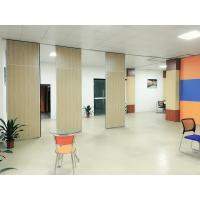Buy cheap Aluminium Alloy Melamine Surface Soundproof Movable Wall Dividers 65 mm from wholesalers