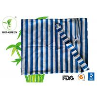 Washable Reusable Nappy Wet Bag With Single Drawstring / Zipper Design Manufactures