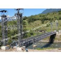 Hot Dip Galvanized Steel Bailey Bridge Surface Protection High Strength 321/HD200 Type Manufactures