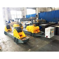 120 Ton Pressure Vessel Tank Turning Rolls Conventional Bolt Adjustable Steel Rollers Manufactures