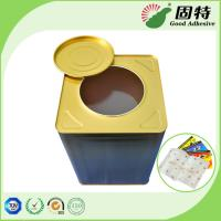 Cheap Solid Pressure Sensitive Hot Melt Glue Yellowish Color For Fly Paper Trap for sale