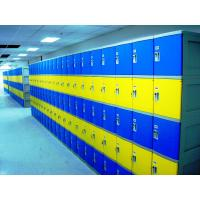Colorful Employee Storage Lockers 4 Tier smart ABS Lockers for school or gym Manufactures