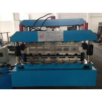 7.5KW Corrugated Sheet Making Machine , Metal Roll Forming Machines With Guide Pillar Manufactures