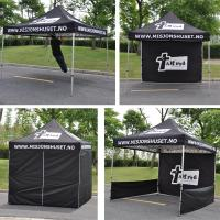 10 X 10 Ft Pop Up Trade Show Tents Aluminum Waterproof Material Hexagon Leg