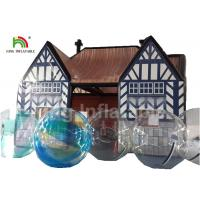 Outdoor Pub Cabin 8 X 6m Airtight Inflatable Event Tent With Digital Printing Manufactures