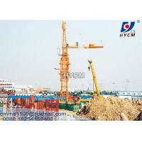Cheap Offer QTZ5011 Types of Tower Cranes with 4 tons and Well Frame Foundation for sale