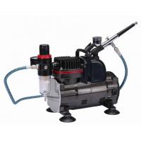 Silent Portable Airbrush Air Compressor With Classic Silver Color TC-812K