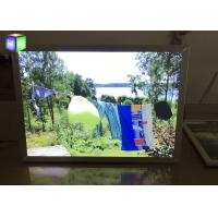Front Load Easy Open Led Snap Frame Light Box 24 X 36 Inches Silver Metal Frame Manufactures
