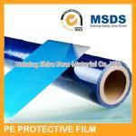 Bande protectrice bleu-foncé de film protecteur d'acier inoxydable pour l'anti poussière en métal