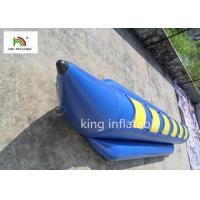 6 Seats Blue Inflatable Fly Fishing Boats Water Boat PVC Tarpaulin Manufactures