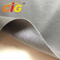 Car / Sofa Seat Cover Pu Synthetic Leather 1.0mm Thickness 65% Pu 35% Polyester Manufactures
