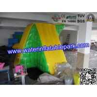 Sea Or Lake Inflatable Water Park Toy / 0.9mm PVC Tarpaulin Floating Climbing Manufactures