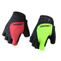 Half Finger Waterproof Windproof Cycling Gloves Ultralight Anti - Skidding OEM ODM Manufactures
