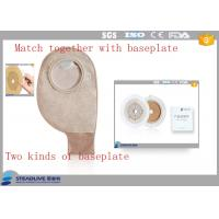 500ML Volume Flange Two Piece Ostomy Bag , Ostomy Drainage Bag OEM / ODM Service Manufactures
