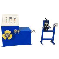 Enameled Automatic Cable Coiling Machine Aluminum Alloy Easy Operation cable manufacturing equipment