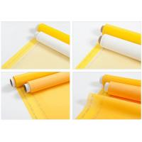 100% 120T Polyester Printing Screen Eco Friendly White / Yellow Manufactures