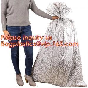 China Bag Jumbo/Giant/Large Plastic Poly Bag for large present, Holiday Designs Gift Bags Plastic Poly Bag Jumbo/Giant/XLarge on sale