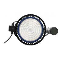 IP65 UFO Industrial Warehouse LED High Bay Light Fixtures Energy Saving Manufactures