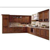Modern High End Kitchen Cabinets MDF / Plywood / Solid Wood Door And Drawer Material Manufactures