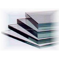 Curve Coated 10mm Clear Float Glass Low Iron For Coffee Table / Restaurant