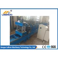 PLC Control Automatic Hydraulic Cut Storage Rack Roll Forming Machine Durable Quality Manufactures