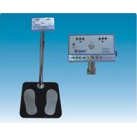 Human Body Test ESD Grounding Test Station , Digital Display ESD Footwear Tester Manufactures