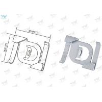 Steel Material Cable Display Components , T Bar Attachment Clip For Suspending Signs Manufactures