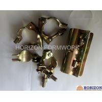 Galvanized Yellow Scaffolding Accessories Couplers EN74 Dia 48.3x48.3mm BS Marked Manufactures