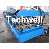 Automatic Steel / Iron / GI IBR Roofing Profiled Sheet Roll Forming Machine Manufactures