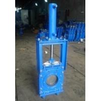 Cheap 16 Bar Closed Working Pressure Knife Cast Steel Gate Valve By Heavy Duty for sale