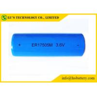 ER17505M A Size Lithium Thionyl Chloride Battery 3.6V 2800mah Lisocl2 Material
