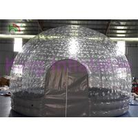 Water Resistant Inflatable Bubble Tent For Backyard / Park / Camping / Rental Manufactures