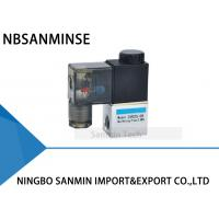2 Way 2 Position 1/8  1/4  Port Size Pneumatic Solenoid Valve NBR Material Oil Seal Manufactures
