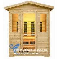 4person outdoor infrared sauna cabin Manufactures