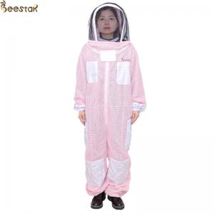 Mesh 3 Layer Ventilated Bee Suit Ventillated Apicultura Suits Cotton Suit