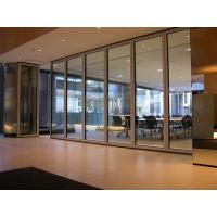 Buy cheap Acoustic Glass Aluminum Sliding Doors For Disco / Theater / Studio from wholesalers