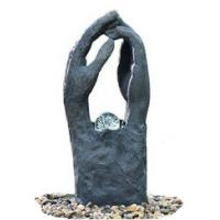 Modern Garden Fountains / Decorative Indoor Water Fountains In 2 Hands Shape Manufactures