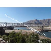Modular Military Bailey Bridge Metal Truss Bailey Ferry Raft Anchoring Emergency Government Troops Support Manufactures