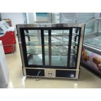 Three - Sided Glass R134a Cake Display Freezer Eco Friendly Customize for Singapore Manufactures