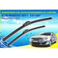 """Frameless 12 """" 300 mm - 26 """" 650 mm Flat Wiper Blades With Universal Hook Manufactures"""