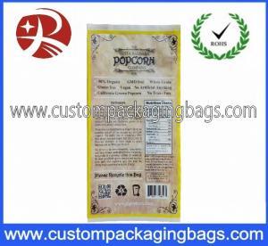 China Printing Plastic Food Laminated Packaging Bags , Popcorn Food Bag on sale