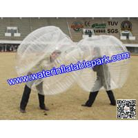 Customized  Popular  Clear TPU Bubble Ball Football HandPrinting Manufactures