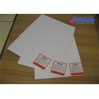 China Furniture Advertising PVC Foam Board , 4mm Thickness Polyvinyl Chloride Sheets on sale
