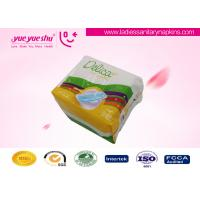 Ultra Thin Soft Cotton Sanitary Pads With Anion Herbal Chips OEM / ODM Acceptable Manufactures