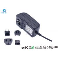 12V 2A Multi Plug Interchangeable Plug Power Adapter For CCTV Camera Monitor Manufactures