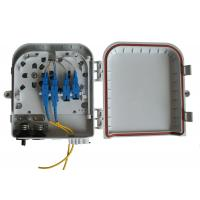 Wall and pole mountable FTTH Solution , High impact plastic FTTH Distribution Box Manufactures